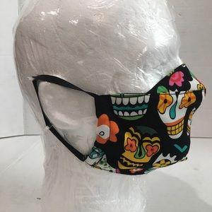 Dia De Los Muertos Cotton Face Mask.